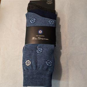 Men's NWT The Original Ben Sherman 3 pack socks